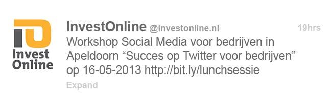 in 5 stappen een goede B2B tweet - 6