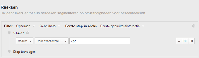reeksen Google Analytics blog