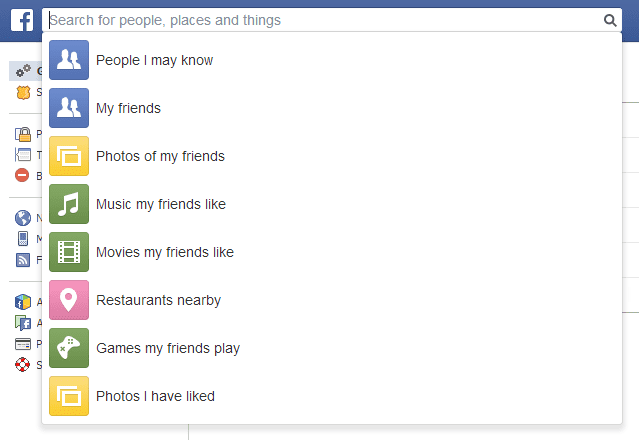 FB Graph Search: Check taal USA