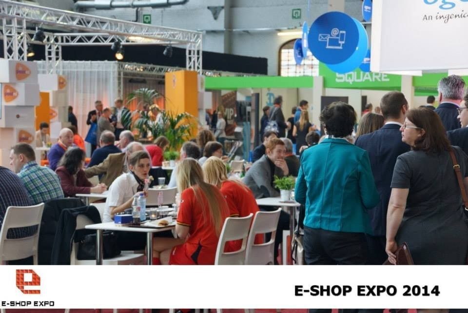 De beursvloer op de E-Shop Expo 2014