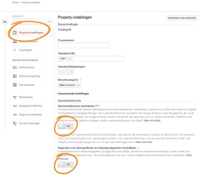 Google Analytics & Nieuwe Cookiewetgeving