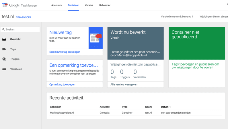 blog Google tag manager update
