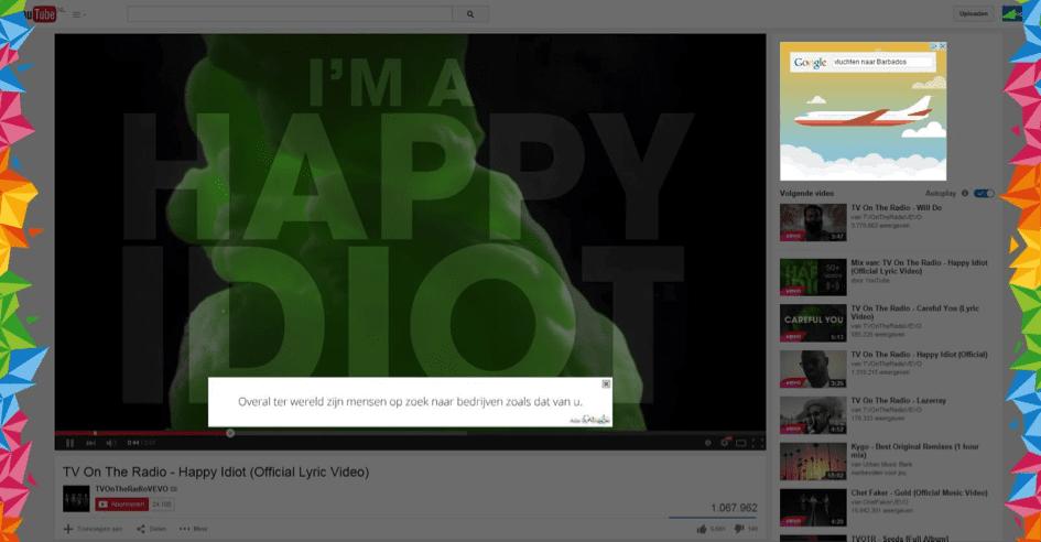 Youtube marketing en Adwords