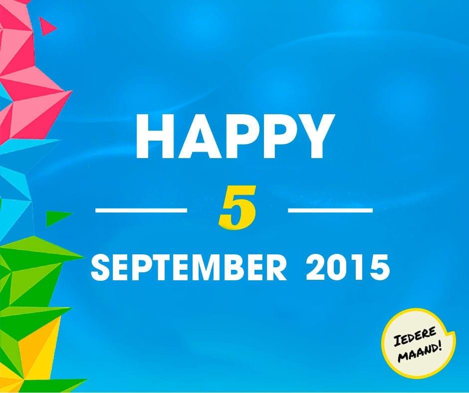 Happy 5