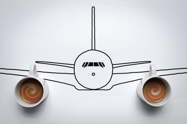 concept vliegtuig kevin