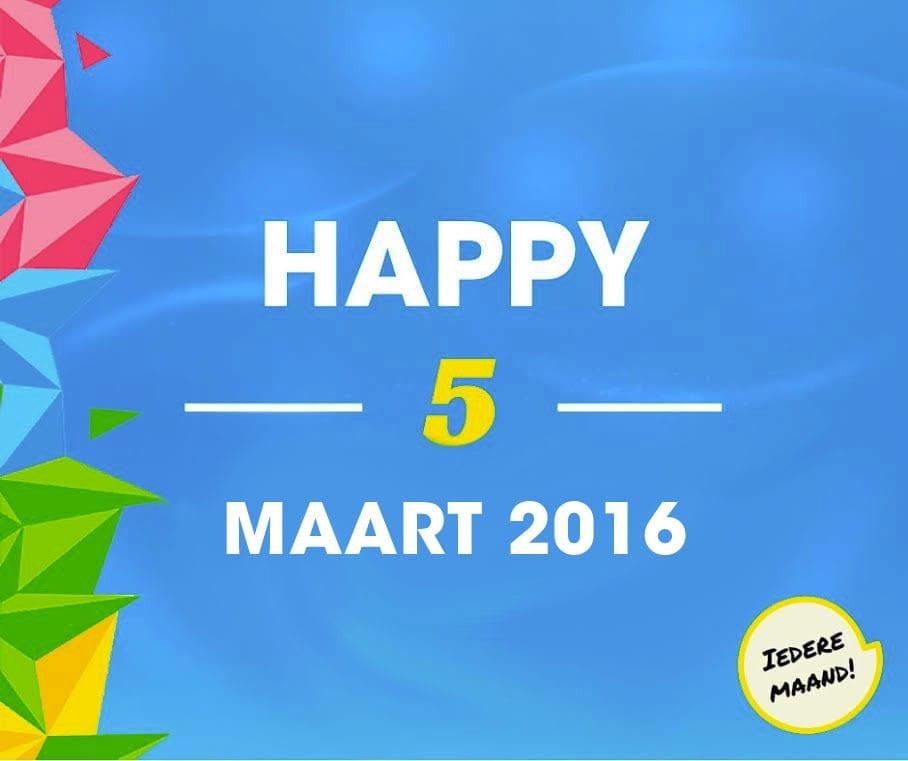 happy5maart