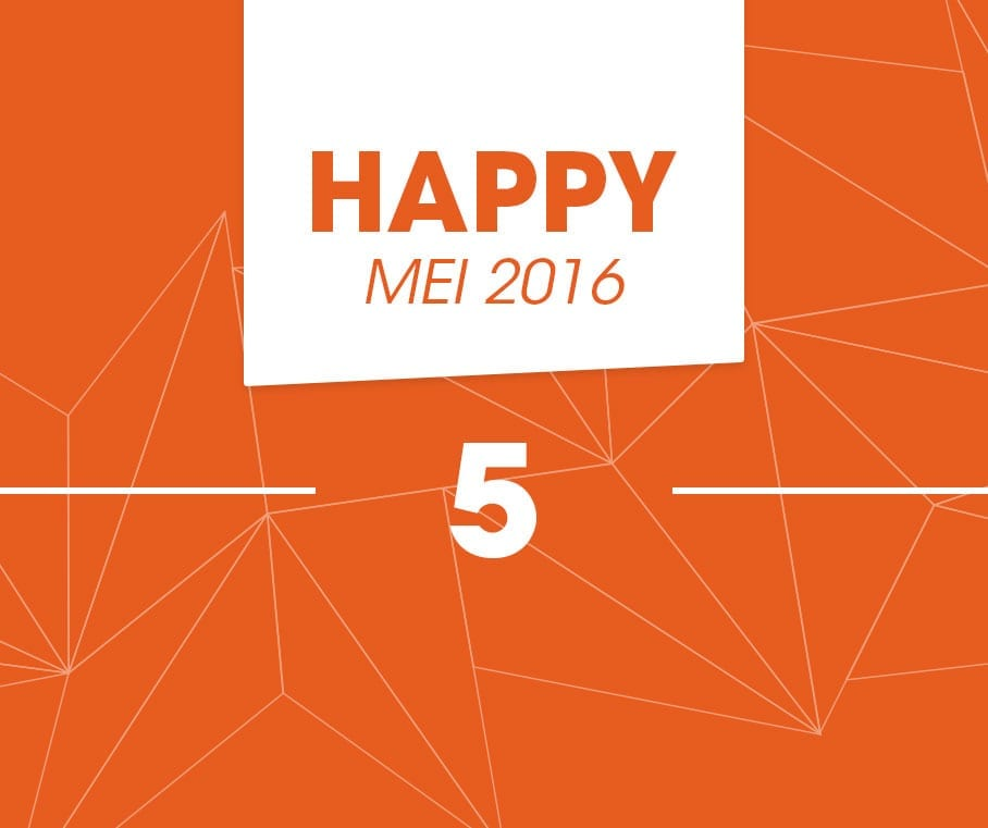 happy 5 mei 2016