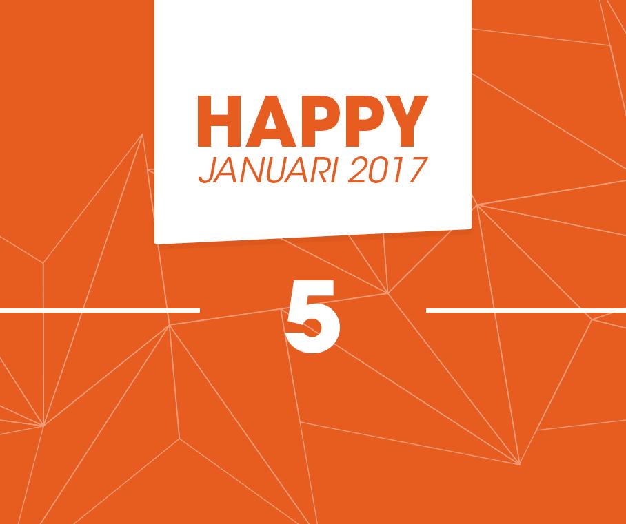 happy 5 januari 2017