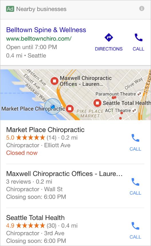 betaalde zoekresultaten Google