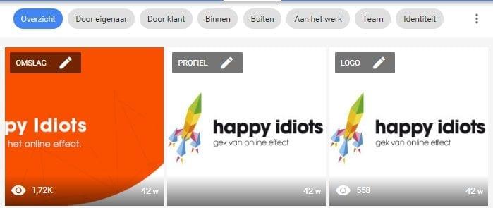 Google My Business - foto's