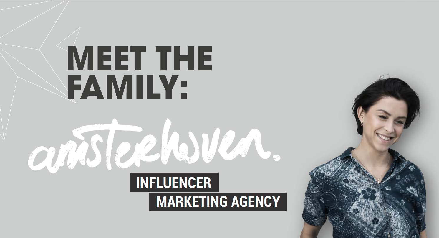 Amsterhoven influencer marketing agency